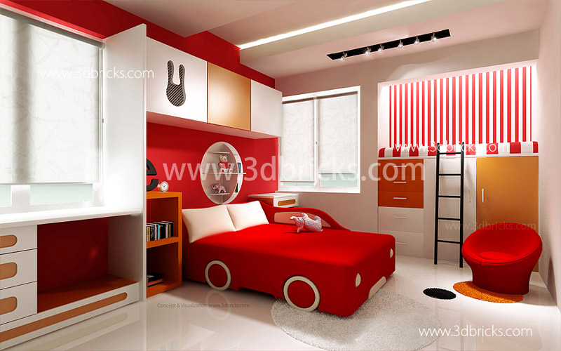 Famous architects in trivandrum 3d bricks case studies - Bedroom ideas for 3 year old boy ...