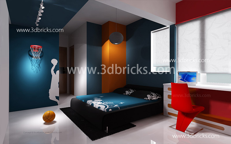 Famous architects in trivandrum 3d bricks case studies for Bedroom ideas 13 year old boy