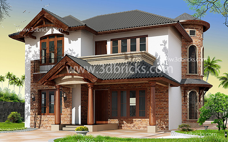 Home elevation designs choose the best style palettes for Classic house elevation