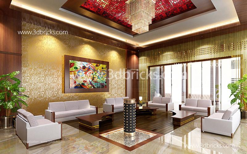 Luxury Dining 3DBricks Kerela Interior Designer
