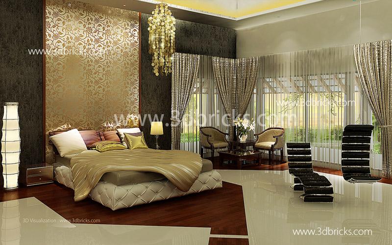 Luxury Dining 3DBricks Kerela Interior Designer Classic Trivandrum