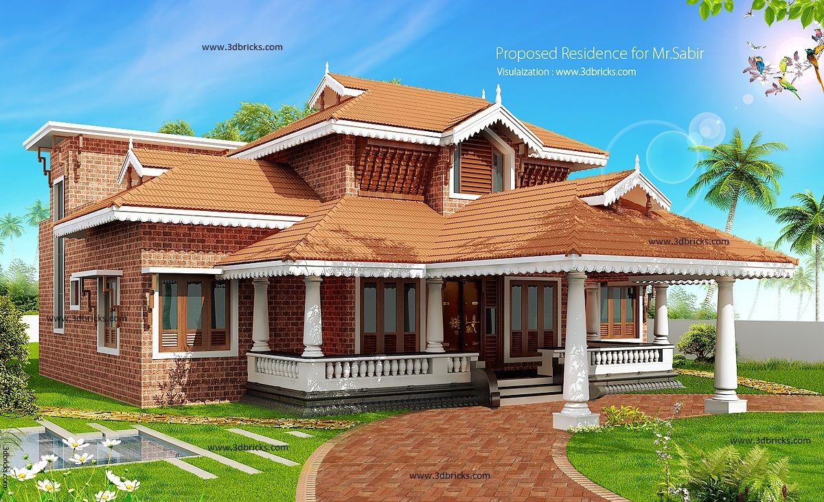 3d elevation how it is done interior designer for Home designs zimbabwe