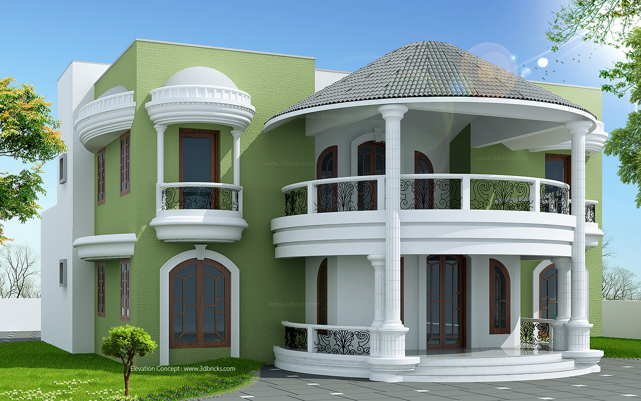 Architects in mangalore for Arabic home designs