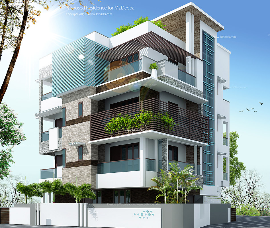 Front Elevation Design Ideas From Architects In Jaipur: Architect Jaipur