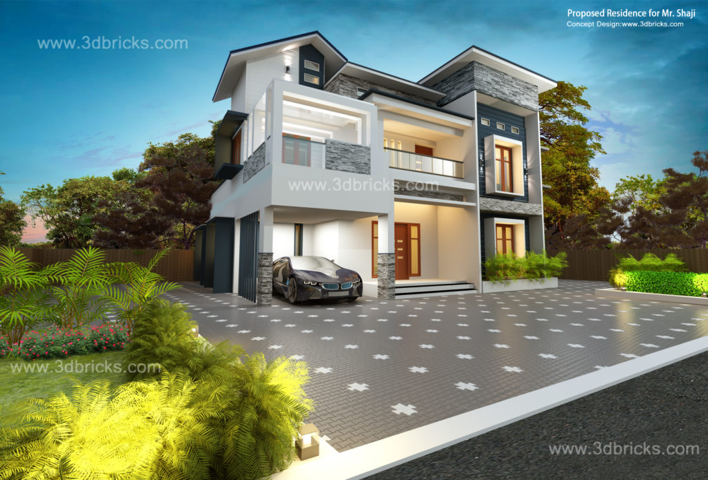 Top 10 Elevations For 2020 Interior Designer Trivandrum Architectural Design Firm