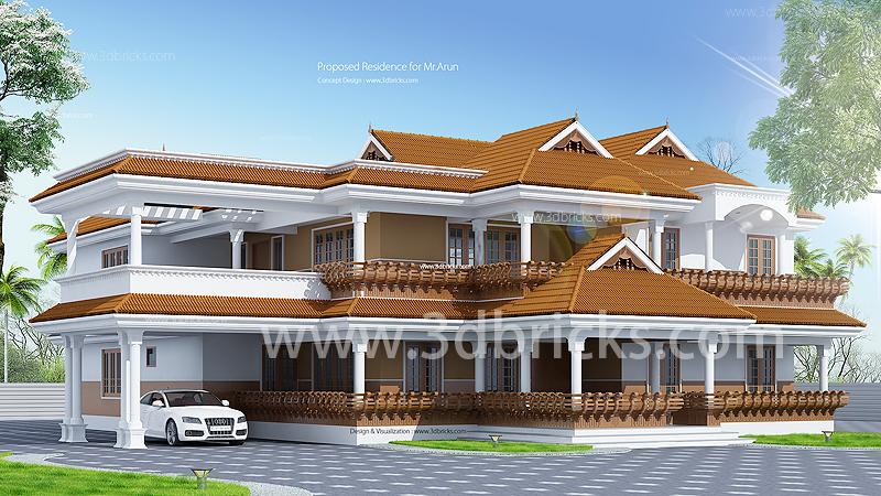 Top 10 Elevations For 2020 Interior Designer Trivandrum Architectural Design Firm