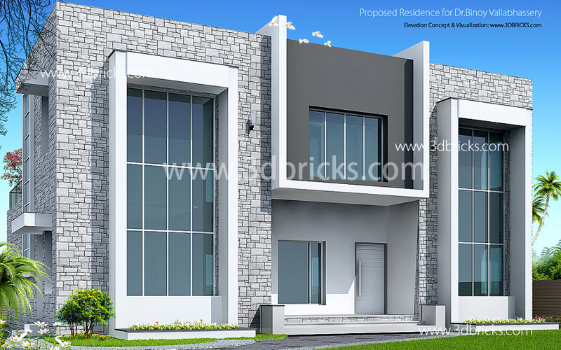 Front Elevation Of Furniture Showroom : Famous architects in trivandrum d bricks case studies