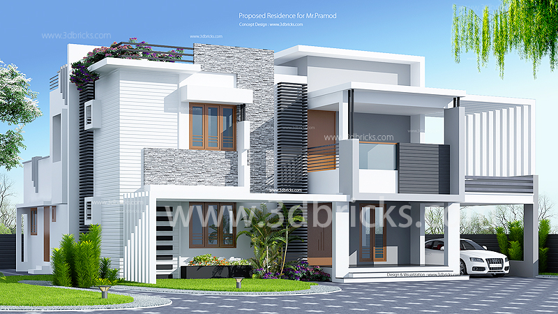 Modern House plans between 2500 and 3000 square feet