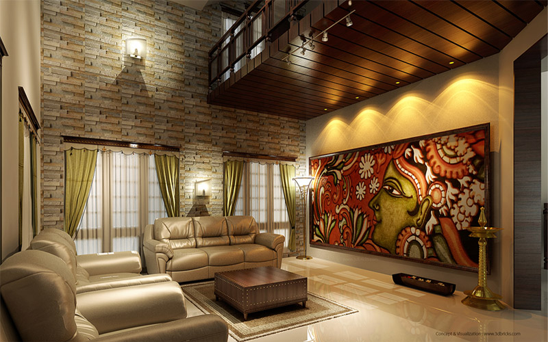 Interior design trivandrum design concepts for new houses - Interior design ideas for indian homes ...
